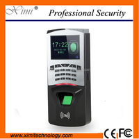 ZK fingerprint access control system finger door access control with management software standalone time attendance system