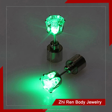 shine Stainless steel Body Piercing led