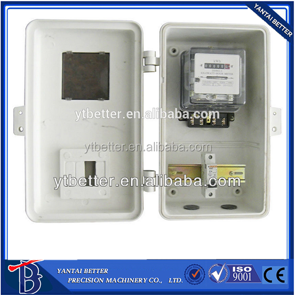 OEM panel meter box outdoor electric meter box/electric meter box cover