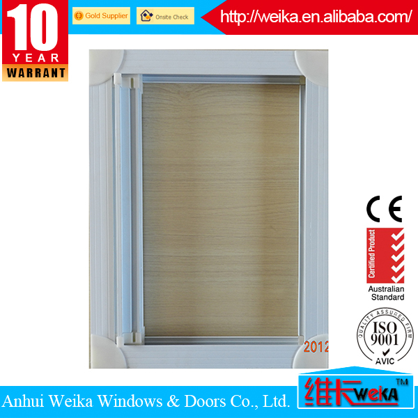 2015 high quality White or any color awning roller insect screen window/insect screen window