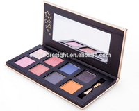 NEW 8 Colors shimer and matte mineral makeup powder eyeshadow palette kit eye beauty set