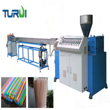 PP PE drinking straw plastic pipe production machine