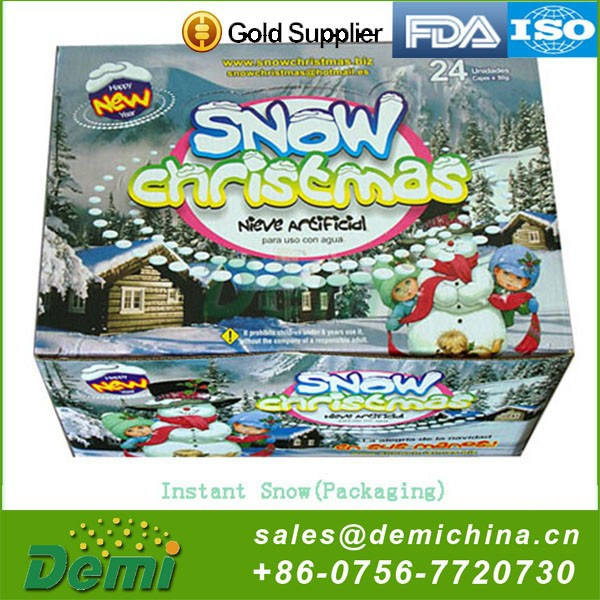 Hot selling outdoor fake snow best christmas gifts 2014 for children
