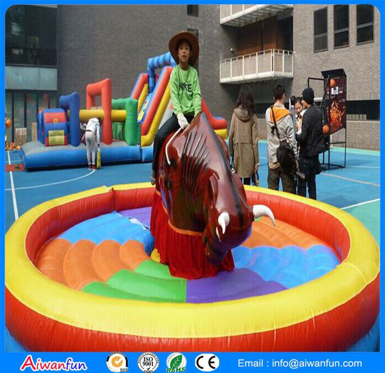 Inflatable Mechanical Bull riding pony toys
