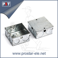 Flush type Metal Mounting Wall Box