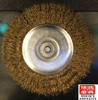 125mm abrasive steel angle grinder wire cup brush