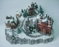 2014 New type village model resin miniature house
