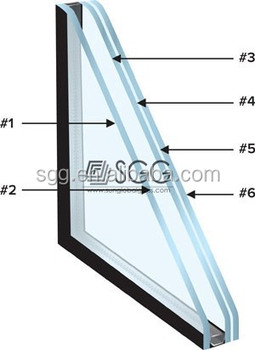 Vacuum insulating glass window buy vacuum insulating for Best insulated glass windows