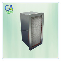 Deep Pleats High-temperature Resistance Box HEPA Air Filter H13