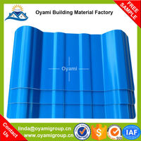 China Manufacturer 2 layers warehouse upvc roofing for factory