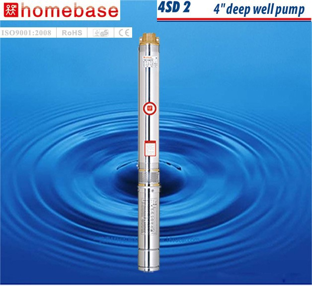 4SD high volume low pressure centrifugal submersible water pumps