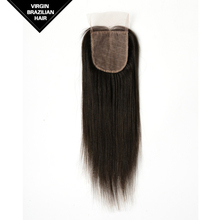 Vv Hair Top Quality Three Part Brazilian Silk Base Closure With Baby Hair