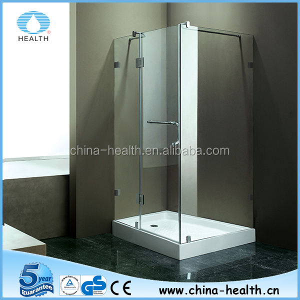 Custom glass shower enclosure made in China