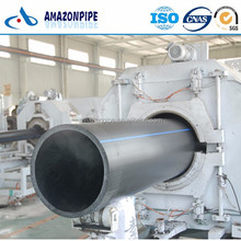 SDR17 PE material pipe 1.0 MPa hdpe pipe for water supply