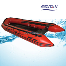 5m inflatable fishing boat with engine from China