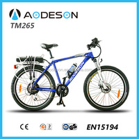 electric bicycle en 15194 TM265 with Alloy frame TM265 electric beach cruiser bicycle