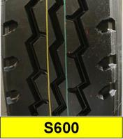 on&off road radial light truck tire S600 size 7.50R16LT