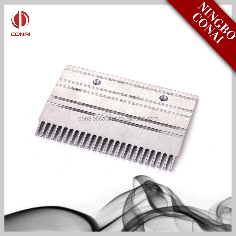 CNACP-057 Aluminum steel escalator center comb plate 24 teeth