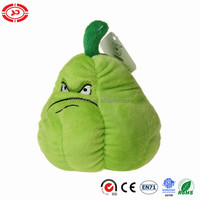 Stuffed Plants Vs Zombies Squash green angry face soft toy