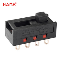 RoHS 3 way slide switch for hair care electrical products home appliances