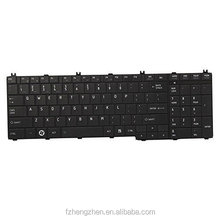 Replacement Laptop Keyboard For Toshiba Satellite C650 C650D C655 C655D C675 C675D L650 L650D L655 L655D L670 US UK RU SP Layout
