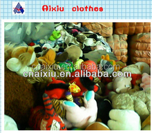 used clothing and used soft toys