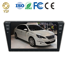 For 7 inch Car dvd player Peugeot 408 with Wince 128MB Nand flash(Can be expanded to 16GB) Car multimedia system