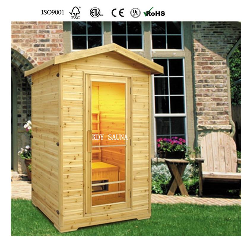 2017 kd5002h hot sale 2person outdoor sauna buy outdoor. Black Bedroom Furniture Sets. Home Design Ideas