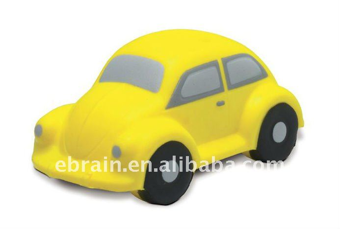 PU Beetle Car, Saloon Car Stress Reliever, Anti Stress Car