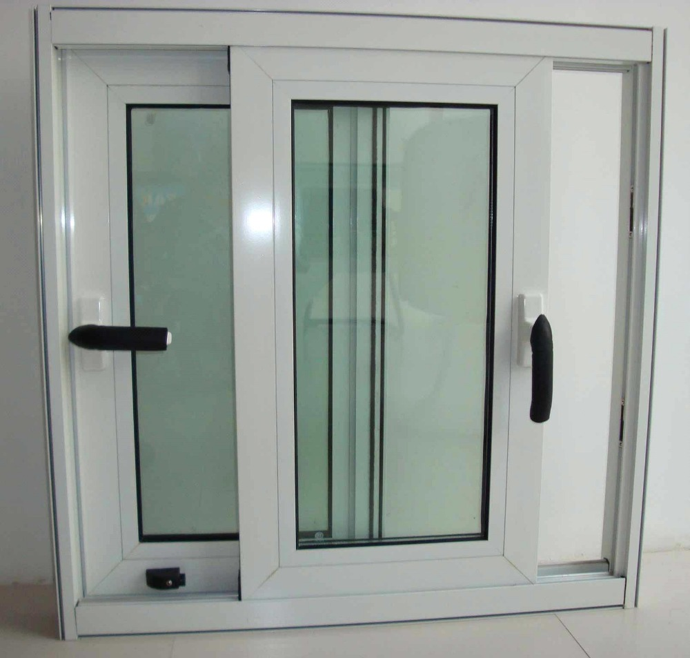 Factoty Price PVC/UPVC Top Quality Aluminum Slliding Windows With Grills