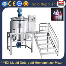 500L laundry soap solid surface homogenizer mixer equipment for making machine