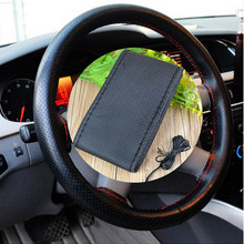 2018 New Senior hand-sewing Car Steering Wheel Cover