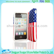 promotional gifts silicone mobile phone case for iphone 4
