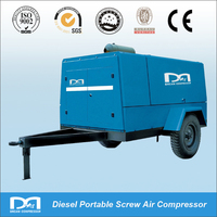 12m3/min 10bar Diesel Portabel Screw Compressor