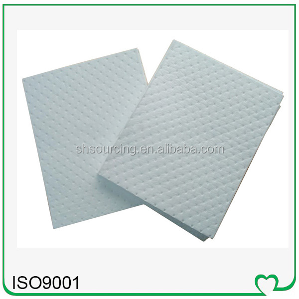 fuel & oil high efficiency sms nonwoven absorbent pads