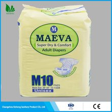 Professional with CE certificate color bag senior adult diaper for disabled people
