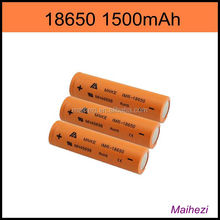hot selling MNKE 18650 1500mAh battery IMR 18650 battery invisible hearing aid prices