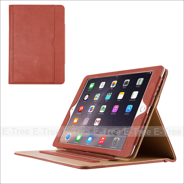 "Premium PU Leather Flip Stand Smart Case For iPad Pro 9.7"" Inch"