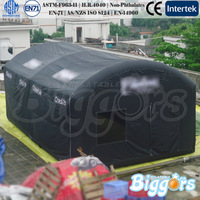 Black Multifunction Giant Building Structure Commercial Inflatable Tents