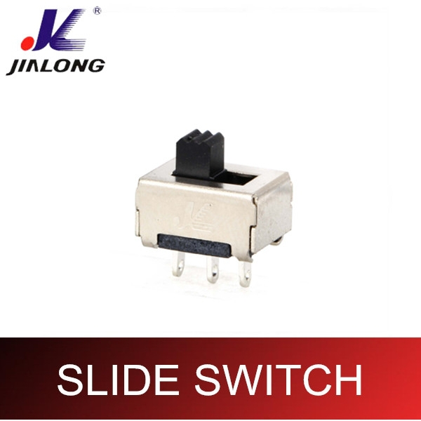 SPDT PCB flashlight slide switch SS-12E05B