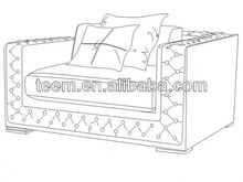 Divany Furniture bedroom furniture LS-117A interior gift craft furniture home decorations