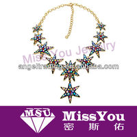 New Design Hexagonal Necklace Jewelry For Women