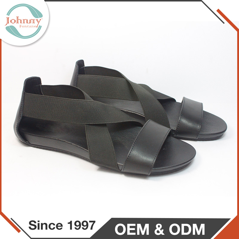 2017 New Summer PU Lining Rubber Outsole India Arabic Men Sandals