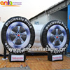 2017 hot custom inflatable tire model for display