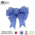 Nice quality rigid blue superior texture bowknot