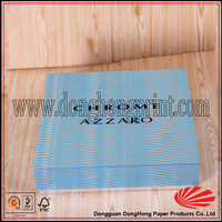 A set of cosmetic packaging box aluminum foil paper box