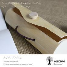 HONGDAO Tree Bark Bow Tie Storage Box,cheap Price Tree Bark Bow Tie St.