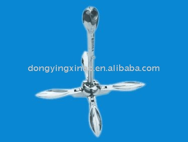 Stainless Steel Grapnel Folding Boat Anchor