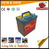 Din standard 12v 36AH dry charged voltage stabilizer auto car batteries