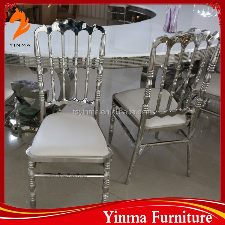 2016 Hot Sale factory price white palace chair for tiffany